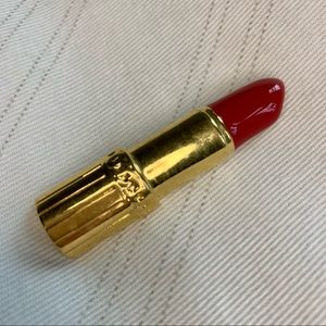 NWOT Cute Lipstick Brooche Red and Gold